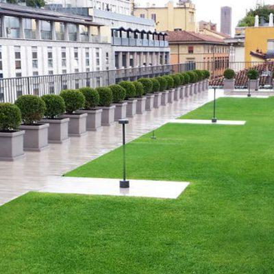 Progettazione di giardini pensili e terrazzi