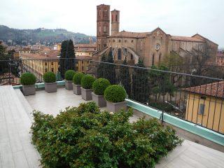 Terrazzo in centro a Bologna