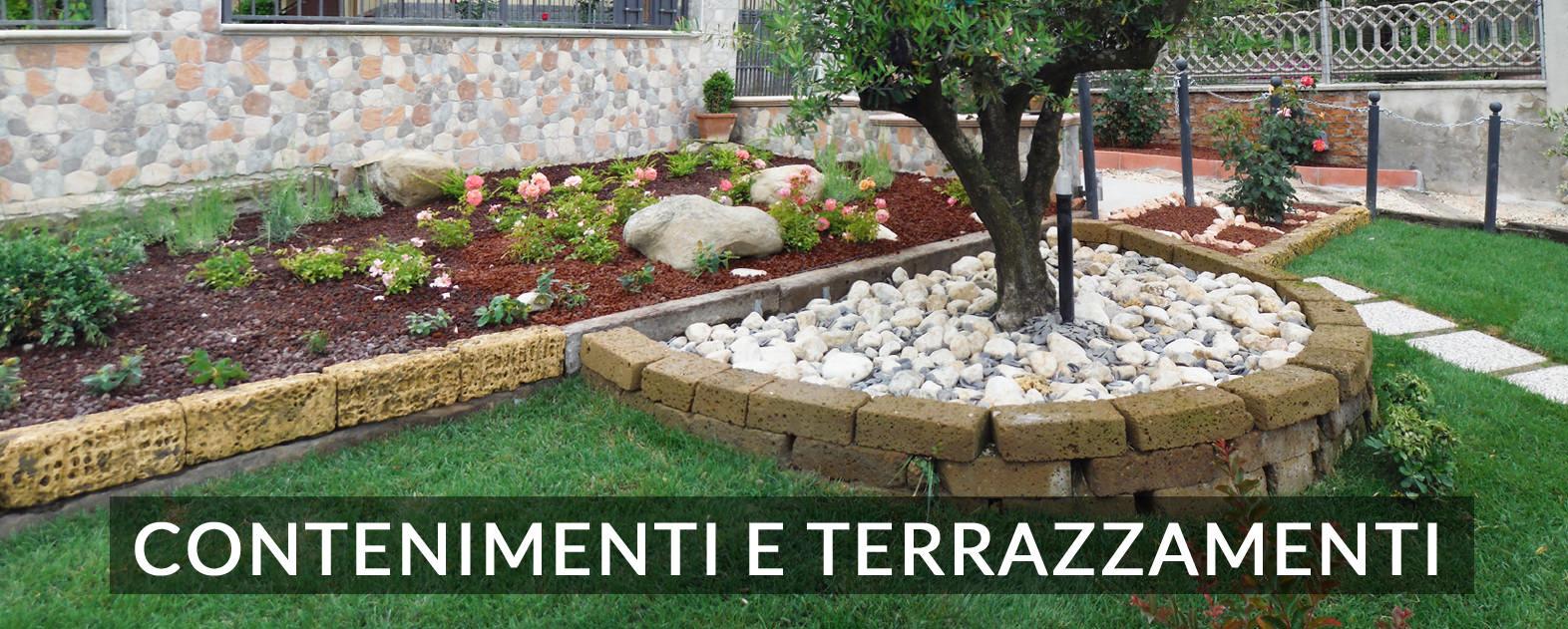 Junior garden contenimento del terreno e terrazzamenti - Terrazzamenti giardino ...